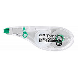 Tombow MONO CT-YSE4 Correctie Tape Roller - 4.2 mm - Transparant/Groen