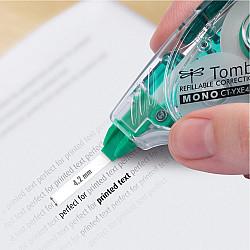 Tombow MONO YXE4 Correctie Tape Roller - 4.2 mm - Groen