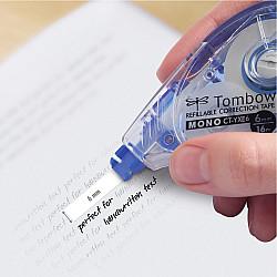 Tombow MONO YXE4 Correctie Tape Roller - 6 mm - Blauw