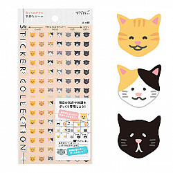 Midori Sticker Collection - Cat Feelings