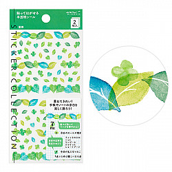 Midori Sticker Collection - Leafs