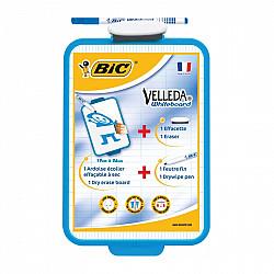 Bic Velleda Whiteboard Set 19 x 26 cm -Whiteboard Marker + Uitwisbaar bord