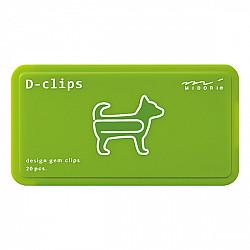 Midori D-Clips - Animal Series - Dog (New)