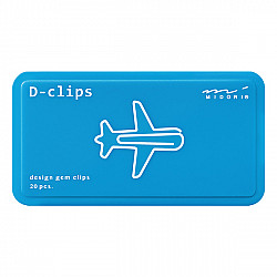 Midori D-Clips - Airplane (New)