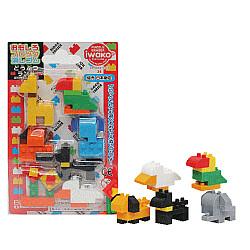 Iwako Novelty Eraser Gummetjes - Animal Land - Set van 7