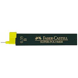 Faber-Castell 9063 Super-Polymer Vulpotlood vulling - Etui van 12 - 0.35 mm - B