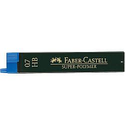 Faber-Castell 9067 Super-Polymer Vulpotlood vulling - Etui van 12 - 0.7 mm - B
