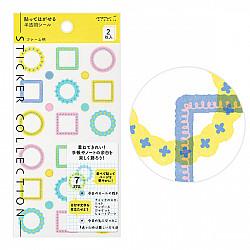 Midori Sticker Collection - Frames