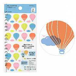 Midori Sticker Collection - Balloons