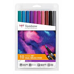 Tombow Dual Brush ABT - Galaxy Colors - Set van 10
