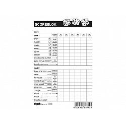 Sigel Express Score Block voor Yahtzee - 105 x 148 mm - Nederlands