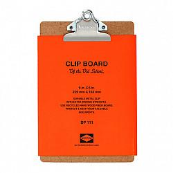 Penco Clip Board - Verticaal - A5 - Zilver Clip