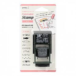 Midori Pre-Inked Stamp - Cats