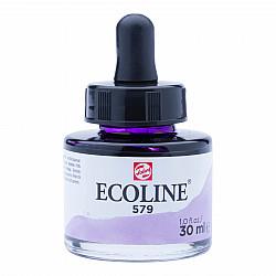 Talens Ecoline Vloeibare Waterverf Inkt - 30 ml - 579 Pastel Violet