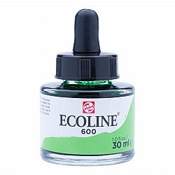Talens Ecoline Vloeibare Waterverf Inkt - 30 ml - 600 Green (Groen)