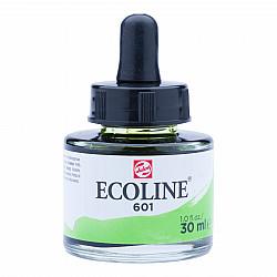 Talens Ecoline Vloeibare Waterverf Inkt - 30 ml - 601 Light Green (Lichtgroen)