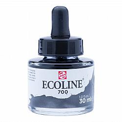 Talens Ecoline Vloeibare Waterverf Inkt - 30 ml - 700 Black (Zwart)