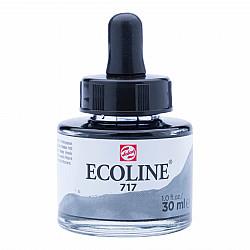 Talens Ecoline Vloeibare Waterverf Inkt - 30 ml - 717 Cold Grey (Koudgrijs)