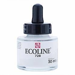 Talens Ecoline Vloeibare Waterverf Inkt - 30 ml - 728 Light Warm Grey (Licht Warm Grijs)