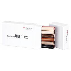 Tombow ABT PRO Alcohol Marker - Portrait Colours - Set van 12