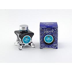 Diamine Inkvent Vulpen Inkt - 50 ml - Blue Peppermint (Shimmer Inkt)