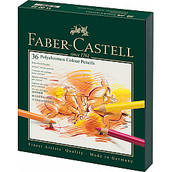 Faber-Castell Polychromos Kleurpotlood - Set van 36 in studiobox