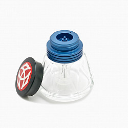 TWSBI Diamond 50 Inktpot - 50 ml - Blue Cap (Zonder inkt)