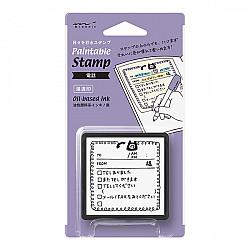 Midori Pre-Inked Stamp - Phone  Message