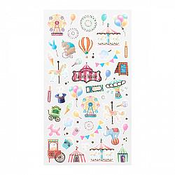 Midori Sticker Marché Collection - Amusement Park