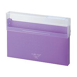 LIHIT LAB Cube Fizz Documentenbox - A4 - Paars/Violet