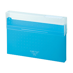 LIHIT LAB Cube Fizz Documentenbox - A4 - Blauw