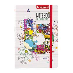 Bruynzeel College Notitieboek - 80 grams Papier - A5