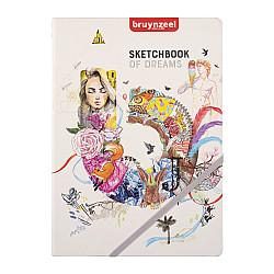 Bruynzeel Creatives Sketchbook - 140 grams Papier - A4