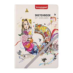 Bruynzeel Creatives Sketchbook - 140 grams Papier - A5