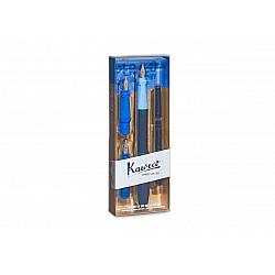 Kaweco Perkeo Kalligrafie Set - Blauw