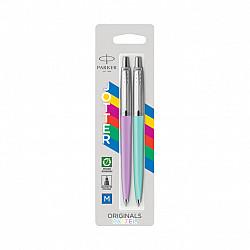 Parker Jotter Originals Pastel Ballpoint Pen - Paars & Mint - Set van 2