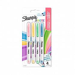 Sharpie S-Note Double Sided Tekstmarker - Fine & Bold - Set van 4
