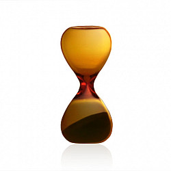 Hightide Hourglass S Zandloper - Looptijd 3 Minuten - Amber