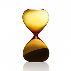 Hightide Hourglass M Zandloper - Looptijd 5 Minuten - Amber