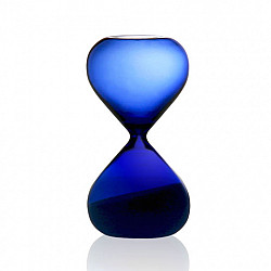 Hightide Hourglass M Zandloper - Looptijd 5 Minuten - Blauw