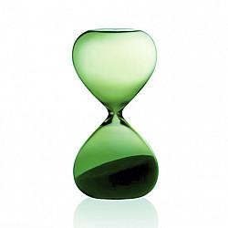 Hightide Hourglass M Zandloper - Looptijd 5 Minuten - Groen