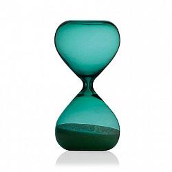 Hightide Hourglass M Zandloper - Looptijd 5 Minuten - Turquoise