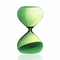 Hightide Hourglass L Zandloper - Looptijd 15 Minuten - Groen