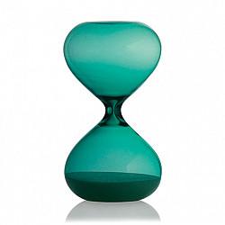 Hightide Hourglass L Zandloper - Looptijd 15 Minuten - Turquoise