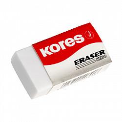 Kores KE30 Potlood Gum - Klein - Wit