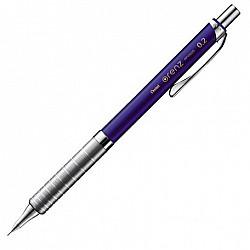 Pentel Orenz Vulpotlood - 0.2 mm - Metal Grip - Blauw