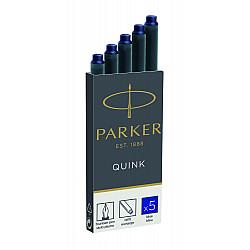 Parker Quink Inktpatronen - Set van 5 - Blauw