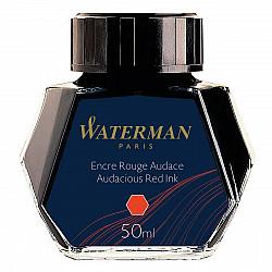 Waterman Vulpen Inktpot - 50 ml - Audacious Red