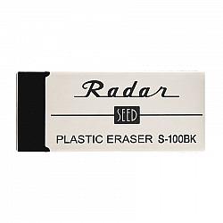 SEED Radar S-100BK Plastic Gum - Groot - Zwart