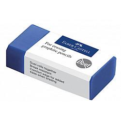 Faber-Castell 187170 PVC-free Eraser Gum voor Potloden - Klein - Blauw